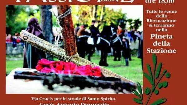 A Santo Spirito la rievocazione della passione di Cristo