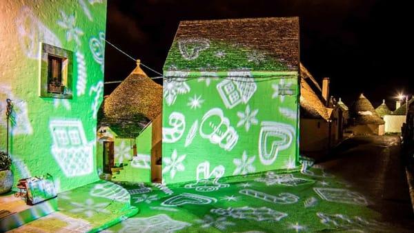 Con 'Christmas lights' parte ad Alberobello l'Edizione 'Trulli Viventi 2019'