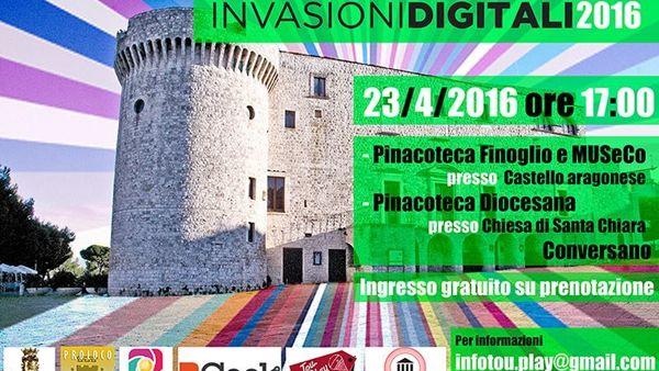 Invasioni digitali 2016 tante arte e storia a Conversano