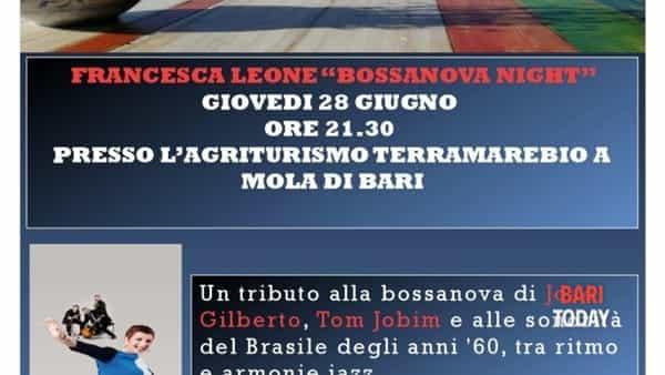 """""""Bossanova night"""" con Francesca Leone"""