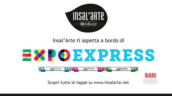 """Un """"treno mostra"""" a Bari, per far conoscere Expo 2015"""