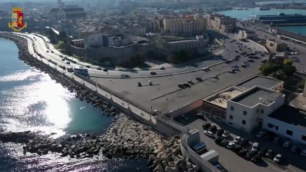 La bellezza di Bari svelata dal drone: le immagini girate dalla polizia per la sicurezza del Papa