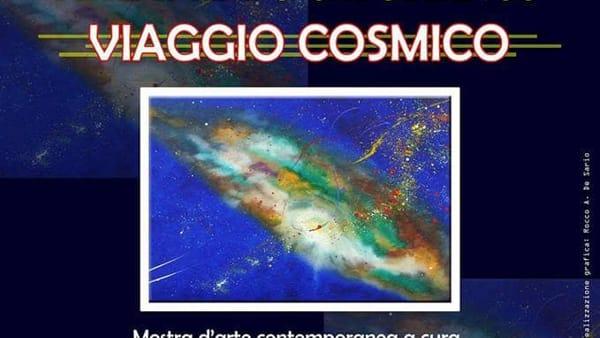 """La mostra di Arte Contemporanea """"Viaggio cosmico"""" al Museo Archeologico di Rutigliano"""