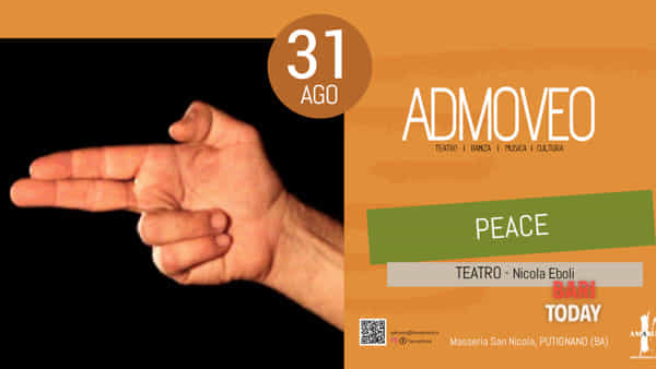Peace – war, drugs & liver to pieces a Putignano per il circuito Admoveo