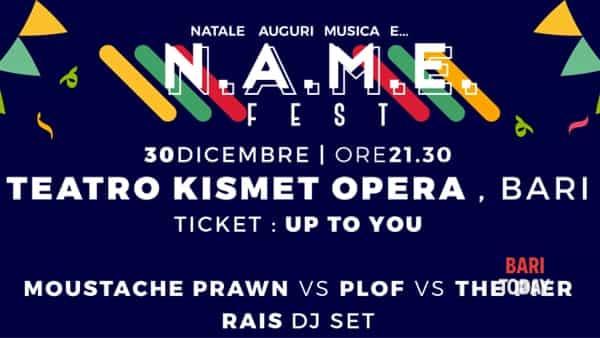 N.A.M.E. fest - Moustache Prawn vs Plof vs The Pier at Teatro Kismet