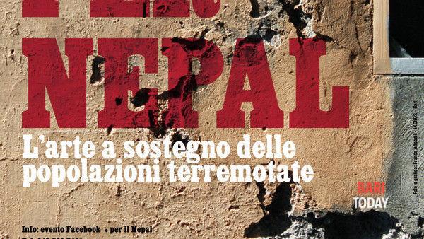 """""""+ per il Nepal"""". A Bari, l'arte a sostegno delle popolazioni terremotate"""