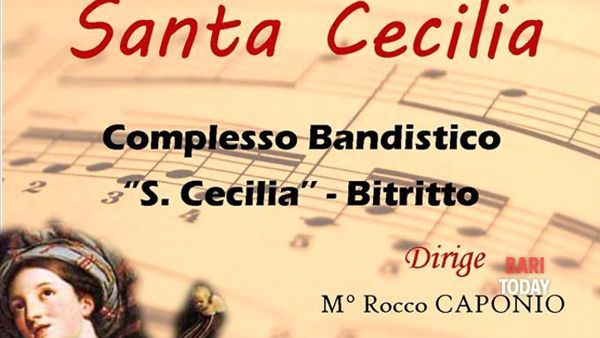 A Bitritto, la banda suona per Santa Cecilia