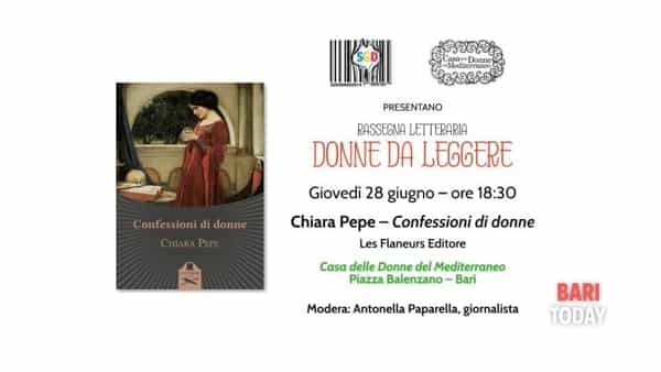 Presentazione del libro 'Confessioni di donne' di Chiara Pepe
