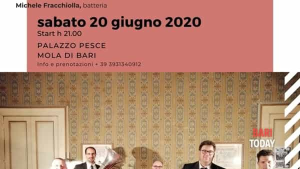 """Promenade Bechet"", jazz 5et a Palazzo Pesce"
