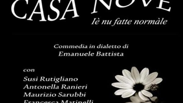 Al Teatro Di Cagno di Bari in scena lo spettacolo 'Casa Nove'