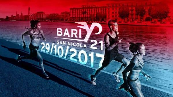 A Bari la manifestazione sportiva San Nicola Half Marathon