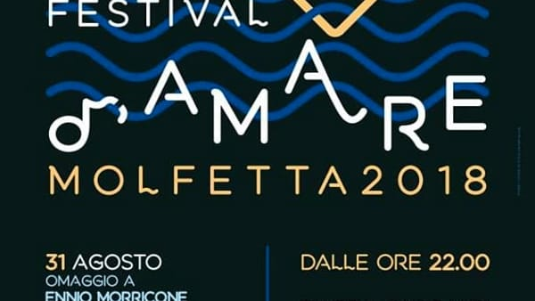 """""""Omaggio a Morricone"""", a Molfetta il concerto-spettacolo sulla la vita di uno dei più grandi compositori italiani"""