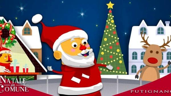 """""""Natale in comune"""", a Putignano il villaggio natalizio, gli spettacoli magici, i chioschetti con cadeaux artigianali"""