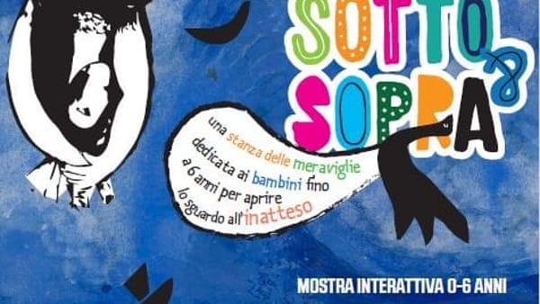 La mostra Sotto&Sopra alla Casa delle bambine e dei bambini