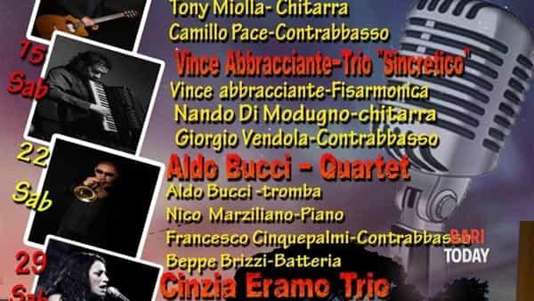 """masseria orlandi  in  jazz 2017 - vince abbracciante trio """" sincretico """" -5"""