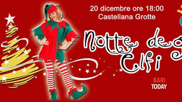 La notte degli elfi a Castellana Grotte