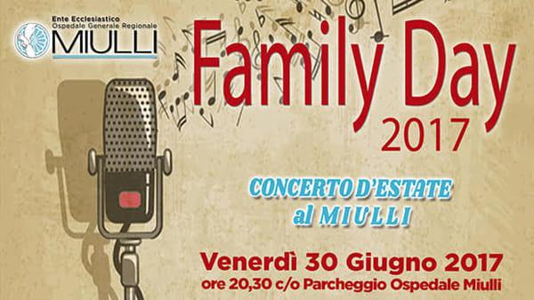 """Family Day 2017, Concerto d'estate all' Ospedale """"F. Miulli"""" di Acquaviva delle Fonti"""