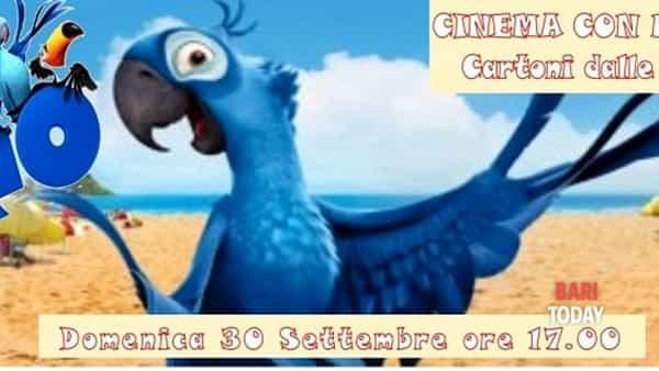 Rio, a Terlizzi il cinema con merenda con i cartoni dalle vacanze