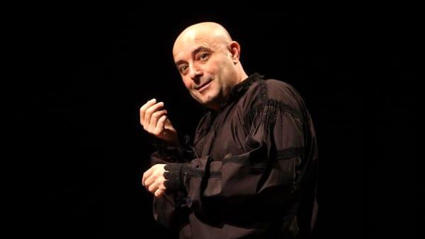 "Al Teatro van Westerhout di Mola di Bari iun scena ""Il sosia"" da Fëdor Dostoevskij"