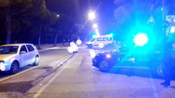 Incidente a Japigia: scontro tra auto e moto in via Caldarola