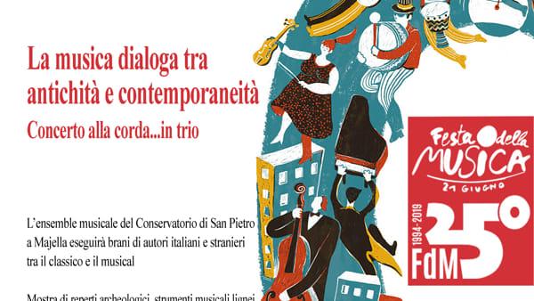 Festa della Musica 2019 al Museo Archeologico Nazionale di Altamura