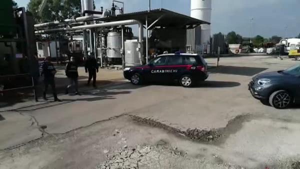 VIDEO   Sequestrato impianto di trasformazione rifiuti a Gioia del Colle: le immagini del drone
