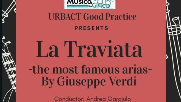 Nell'Auditorium Comunale di Adelfia gli alunni dell'Orchestra Sociale «MusicaInGioco»con 'La Traviata'