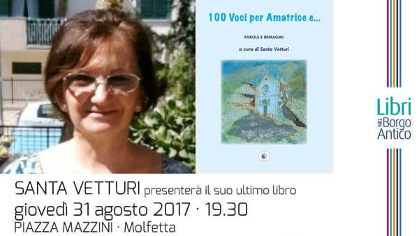 """""""Libri nel Borgo Antico"""" continua e fa tappa a Molfetta per Cultura e solidarietà a sostegno di Amatrice"""