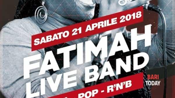 Fatimah live show dinner al VIII Talento di Bitritto