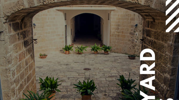 Tour guidato alla scoperta degli splendidi affreschi della Sala Etrusca e della corte interna di palazzo Pesce