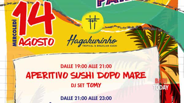 yuppies beach party • ferragosto con hagakure-3