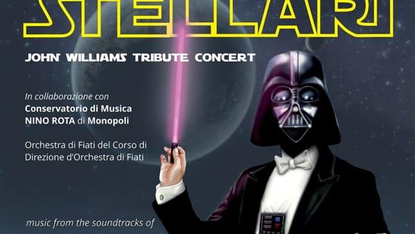 Musiche da film al teatro 'Traetta' di Bitonto con un concerto dedicato alla saga cult firmata da George Lucas 'Star Wars'