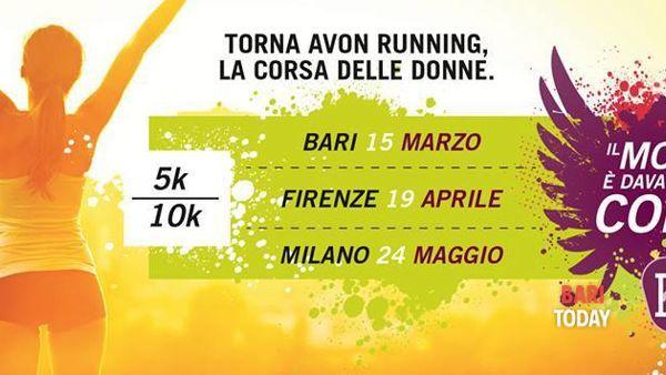 Parte da Piazza del Ferrarese la diciottesima edizione dell'Avon Running
