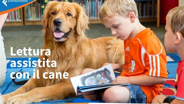 Laboratori di lettura assistita con il cane: alla Feltrinelli l'incontro organizzato da Aipet