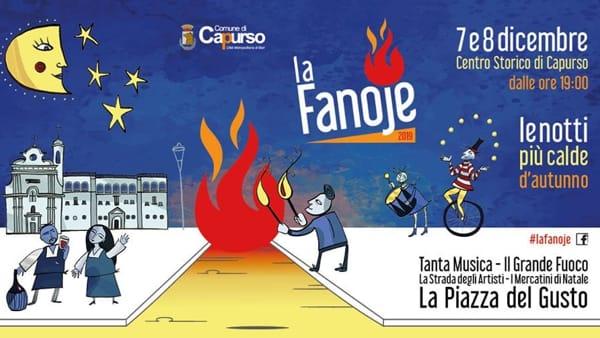 A Capurso con 'La Fanoje', un viaggio tra sapori, arte, musica di strada e tradizioni