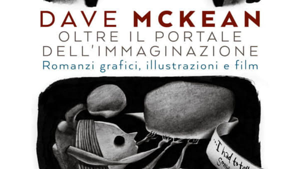 """Dave McKean al Museo Civico di Bari in occasione della sua mostra personale """"Oltre il portale dell'immaginazione"""""""