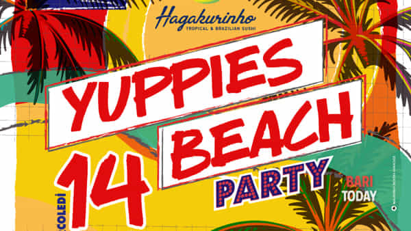 yuppies beach party • ferragosto con hagakure-2