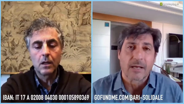 Emilio Solfrizzi e Antonio Stornaiolo insieme per 'Bari Solidale': il videoappello a donare