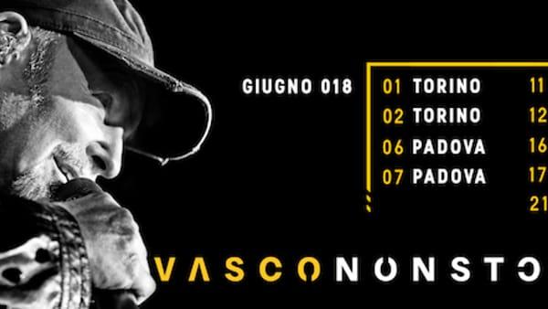 Vasco Rossi in concerto allo Stadio San Nicola di Bari