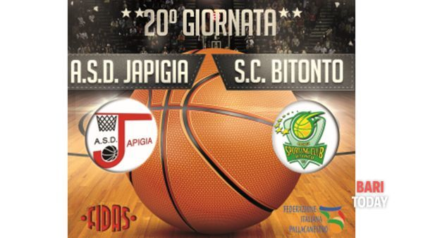 Pallacanestro maschile - A.S.D. Japigia Bari - Sporting club Bitonto
