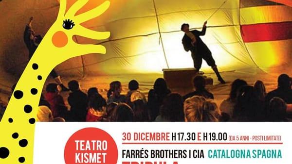 Al Teatro Kismet di Bari in scena lo spettacolo per bambini 'Tripula, viaggio in mongolfiera'