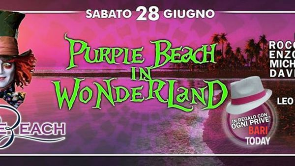 Purple Beach in Wonderland
