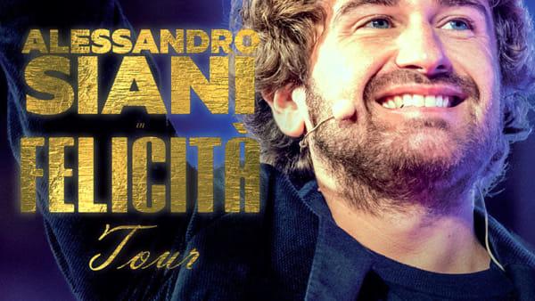 Alessandro Siani al TeatroTeam in 'Felicità Tour'
