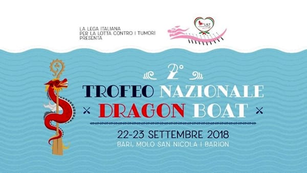 """A Bari il 2° Torneo in rosa """"Dragon Boat in rotta verso la prevenzione"""""""