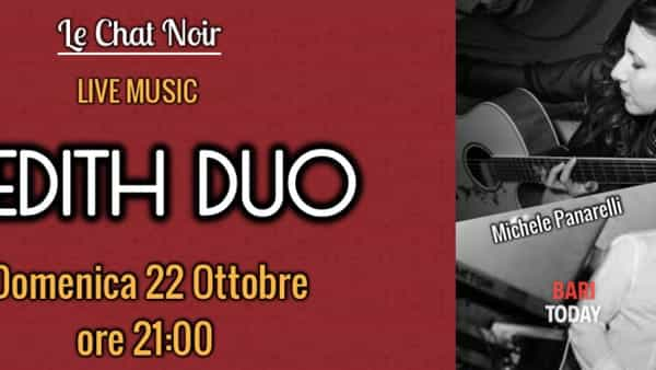 """Inedith duo"" live a le Chat Noir"