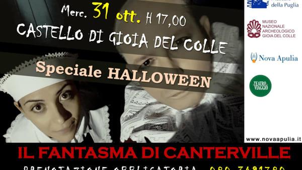 Speciale Festa di Halloween al Castello di Gioia del Colle con 'Il fantasma di Canterville'