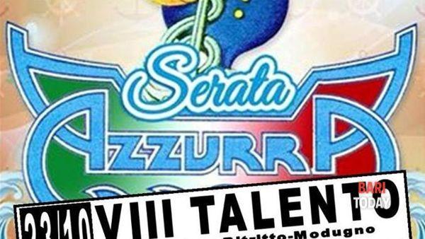 Azzurra e il musicomico Antonello Vannucci all'VIII talento