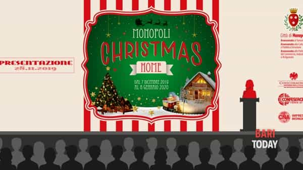 """Monopoli christmas home"", un villaggio incantato a cielo aperto"