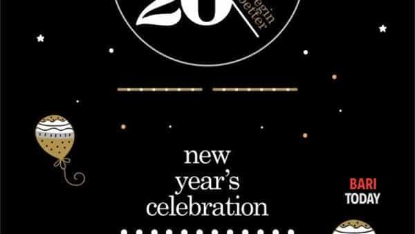 Capodanno venti20 new year's celebration all'Hotel Excelsior