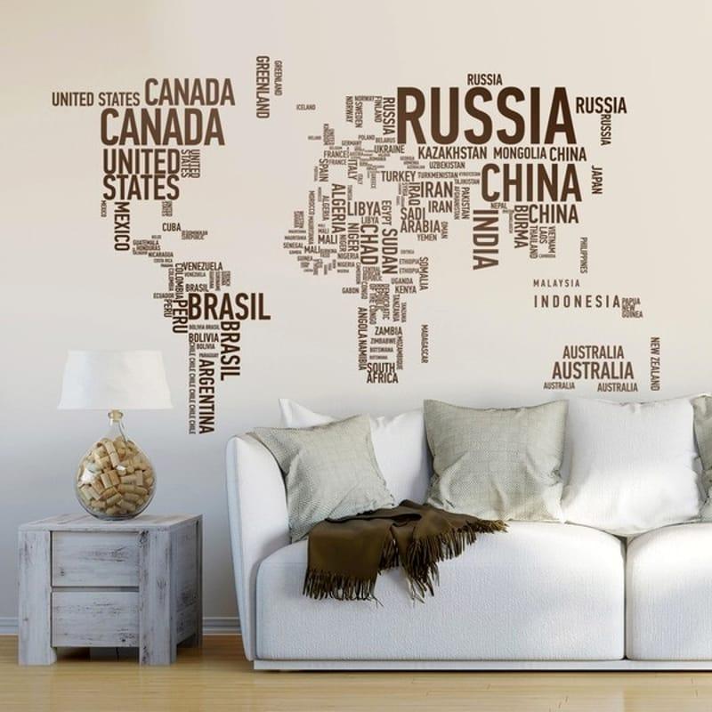 Stile e originalità in casa con gli adesivi murali: come ...